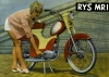 Rys MR I Moped Prospekt 1960er Jahre